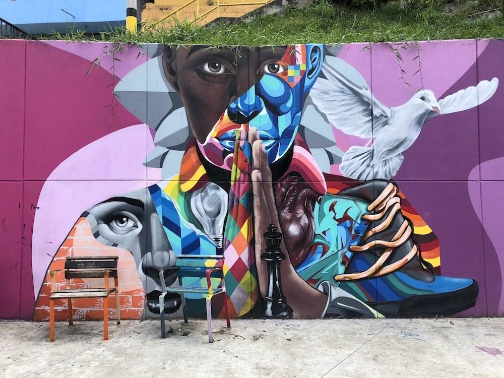 Location: Comuna 13 in Medellín