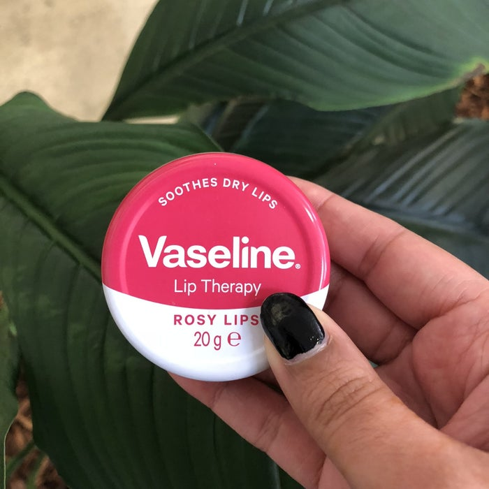 """""""I work in an air-conditioned office five days a week so my lips are always getting super dry. I've tried numerous lip balms but this Vaseline one has to be one of the best. It's super nourishing and comes in tinted versions which add the cutest pop of colour to your lips."""" – Isha Bassi"""