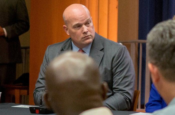 Acting Attorney General Matthew Whitaker