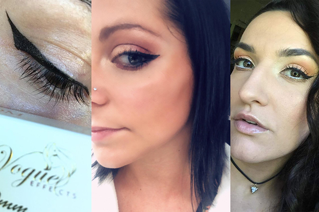 If You Hate Doing Winged Eyeliner, You 100% Need This Cat-Eye Stamp