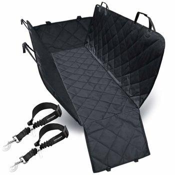 the car hammock in black