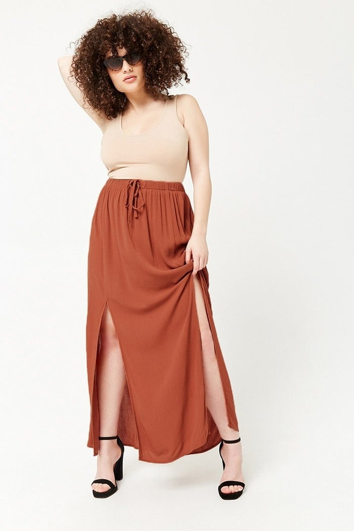 Get it from Forever 21 for $15.90 (available in sizes 2X–3X).