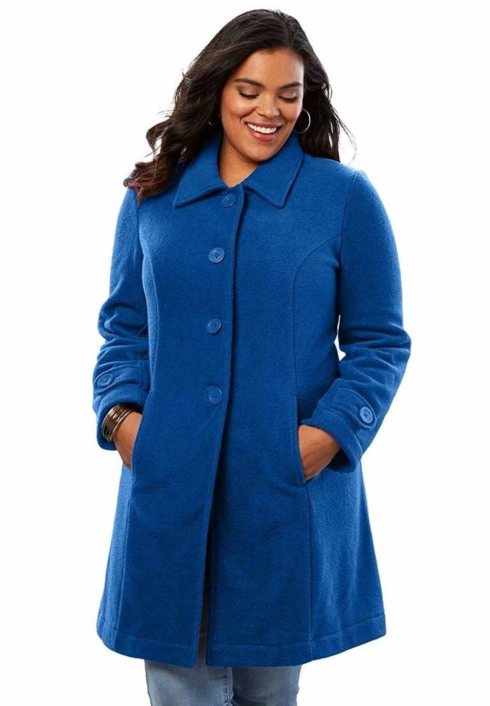 4103185bf3678 A classic button-up coat that ll make you look like someone straight out of  Miracle on 34th Street (and it ll feel like a miracle when you see how warm  a ...