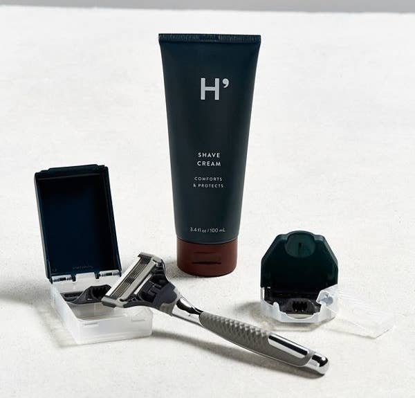 The set comes with a razor, shave cream, extra blade cartridges, and a travel blade cover. Get it from Urban Outfitters or Birchbox for $30.