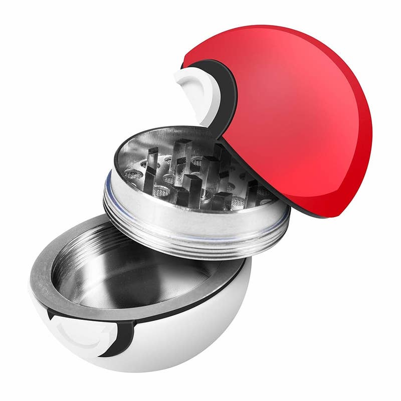 "Promising review: ""Is this cute or what? Perfect little grinder. It is very easy to use and has a magnet to hold the top and bottom together. I love to cook with dried herbs and this is perfect for that. Easy to empty and clean. Perfect addition to my gadget drawer."" —jmbilletGet it from Amazon for $12.99."