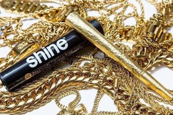 """Promising review: """"Nice slow burn to them, and sexy gold coloring."""" —Amazon CustyGet them from Amazon for $13.97."""