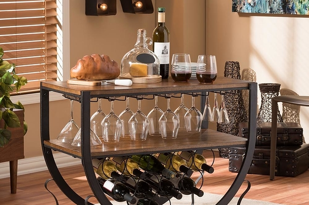 27 Ridiculously Good Looking Bar Carts That'd Look Fantastic In Your Home