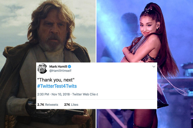 Ariana Grande Geeking TF Out Over Mark Hamill Acknowledging Her