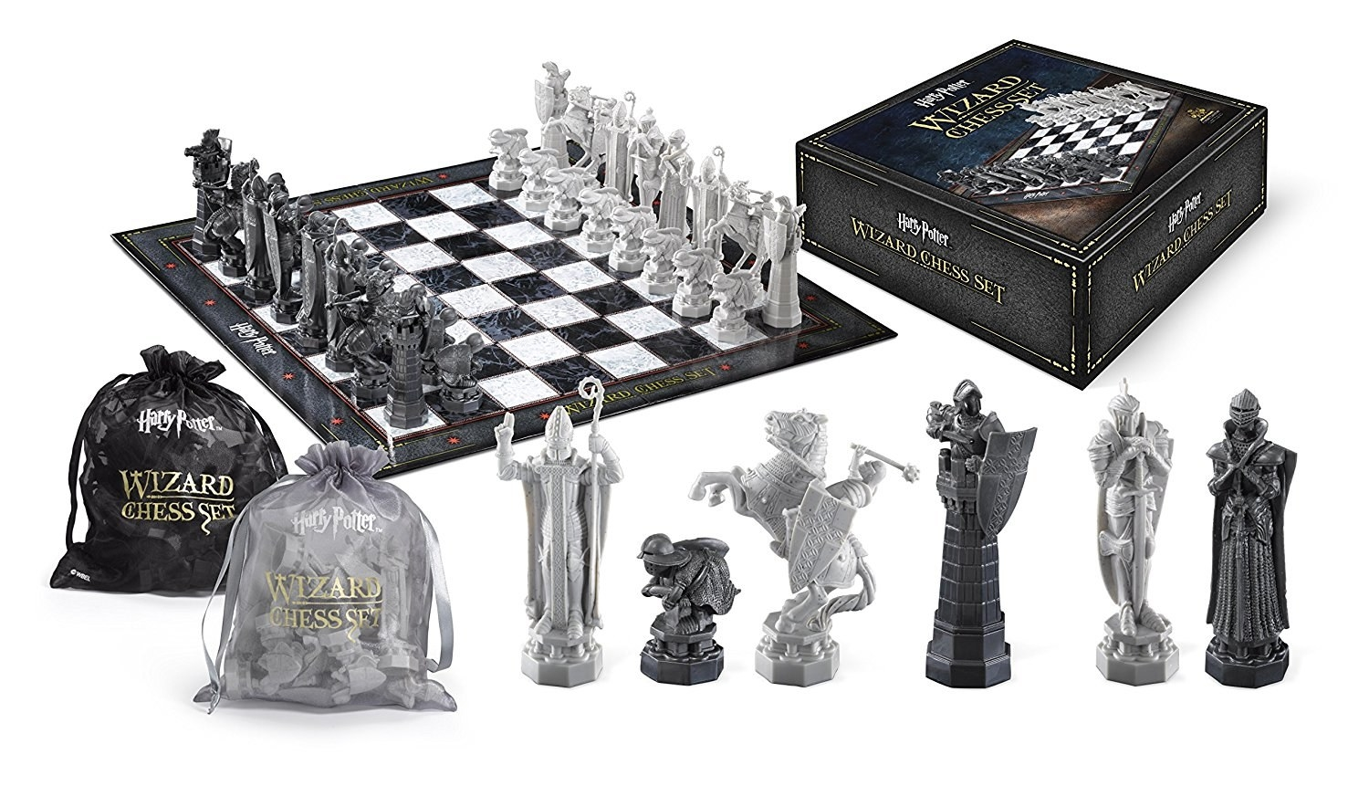 The game set which looks exactly like the set in the first Harry Potter movie