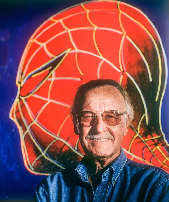Comic book illustrator and creator Stan Lee in June 1996.