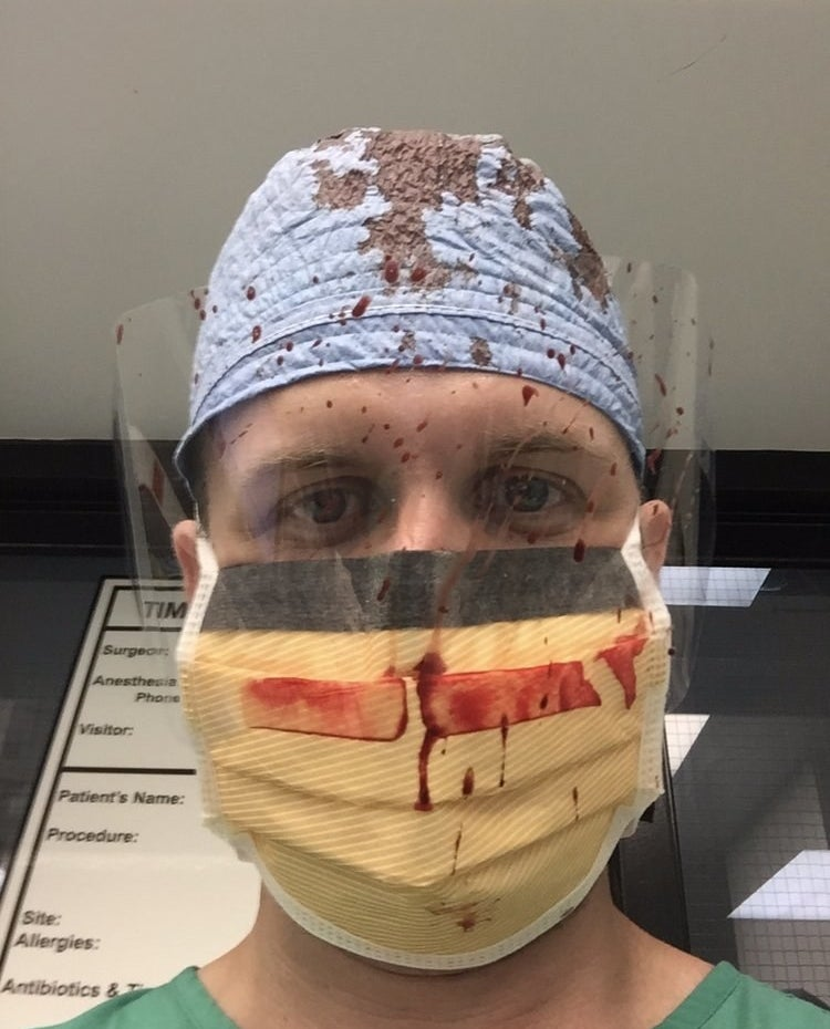 Doctors Are Sharing Gruesome Photos Of What It's Like To Treat Gun Violence Victims
