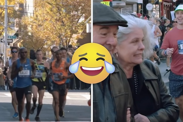 People Crossing The Street During The NYC Marathon Is As New York As It Gets