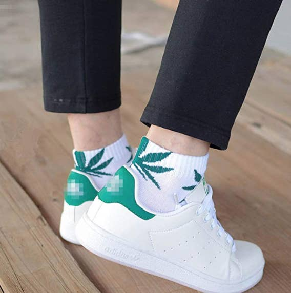"Promising review: ""These are perfect. I wore a pair in the Seattle airport and got compliments all through TSA lol. Easy to see pattern, comfy, fits well, decent quality. Very happy with this purchase."" —Chelsea TaylorGet a five-pack from Amazon for $13.56."