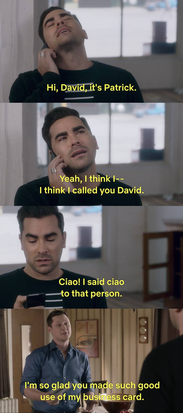 18 David And Patrick Schitt S Creek Moments That Made My Dead Heart Grow Three Sizes See more of david meme on facebook. 18 david and patrick schitt s creek