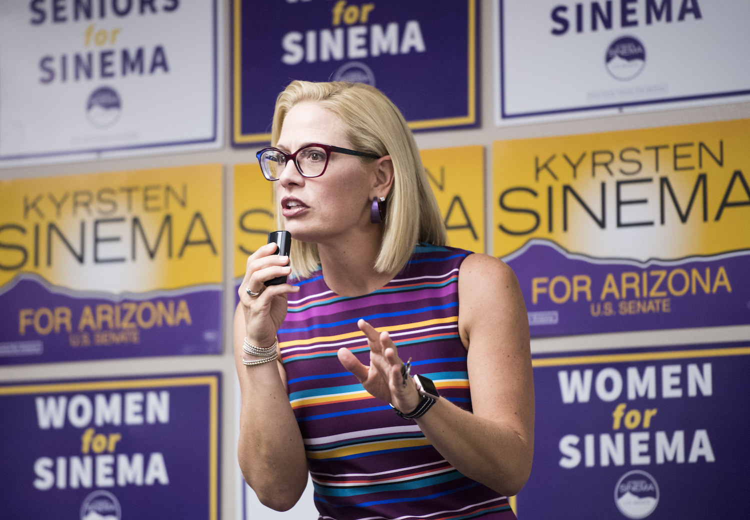 Democrat Krysten Sinema Has Won Arizona's Senate Race