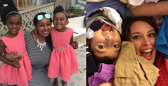 Krista has a 10-year-old son, and Asia has 5-year-old twin daughters.