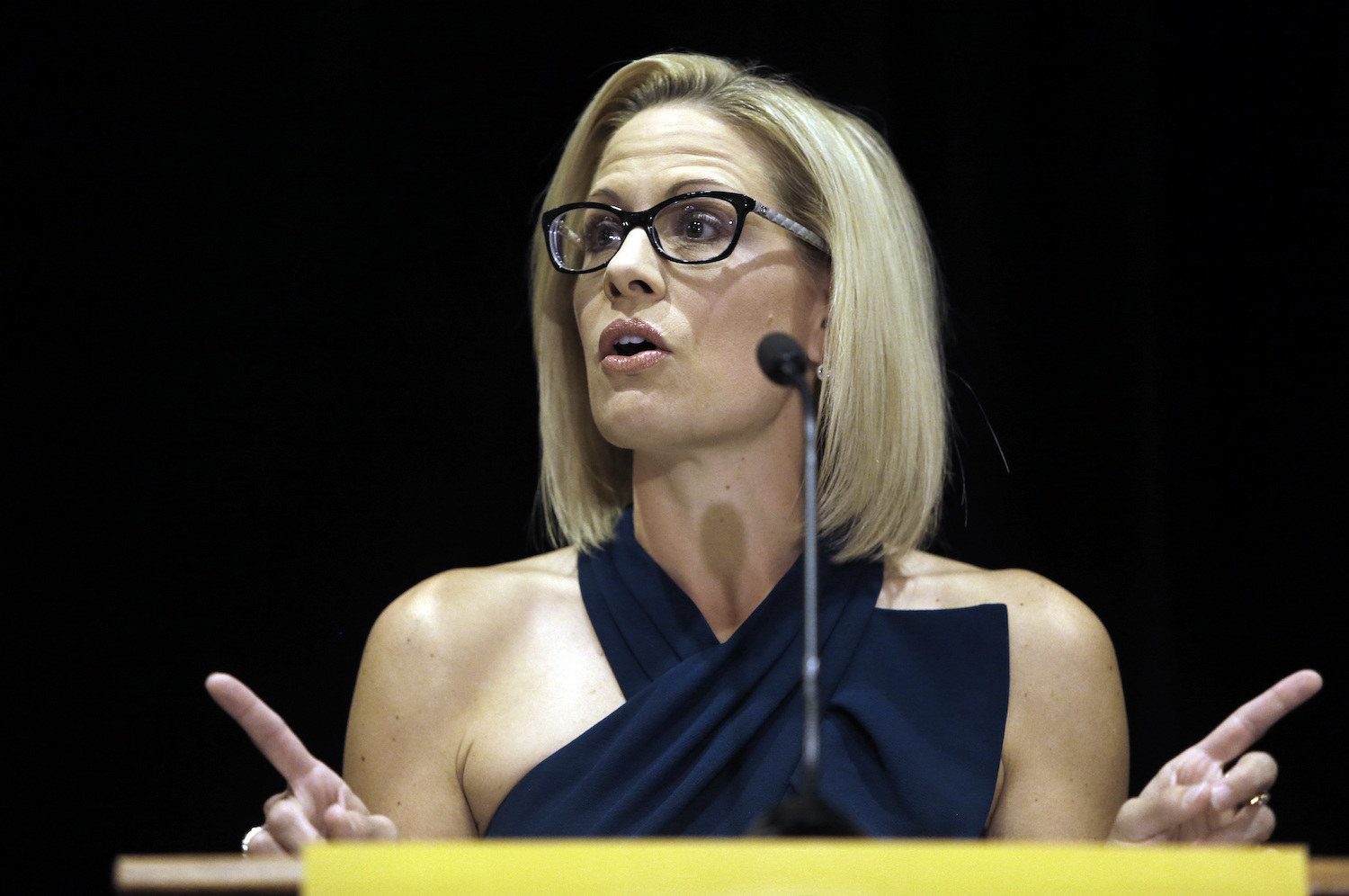 Democrat Kyrsten Sinema, The First Openly Bisexual Person Elected To Congress, Has Won Arizona's Senate Race