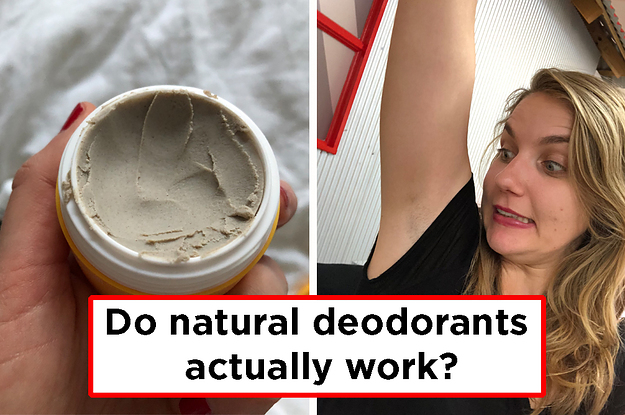 I'm Scared Of Natural Deodorants But I Tested 4 So You Don't Have To