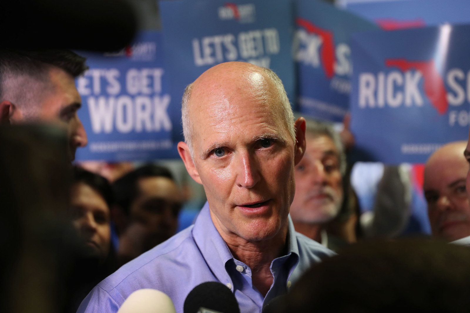 Republican Gov. Rick Scott Was Just Sued Over His Role In The Florida Recount