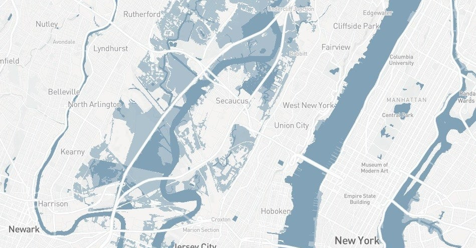 Map Of America 2050.Is Your Home At Risk Of Flooding From Rising Seas By 2050 Check