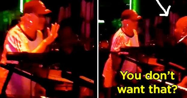 "I'm Cringing At Christina Aguilera Asking To Sing With This Band And Them Saying ""No"""