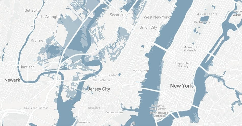 Is Your Home At Risk Of Flooding From Rising Seas By 2050? Check This Map.