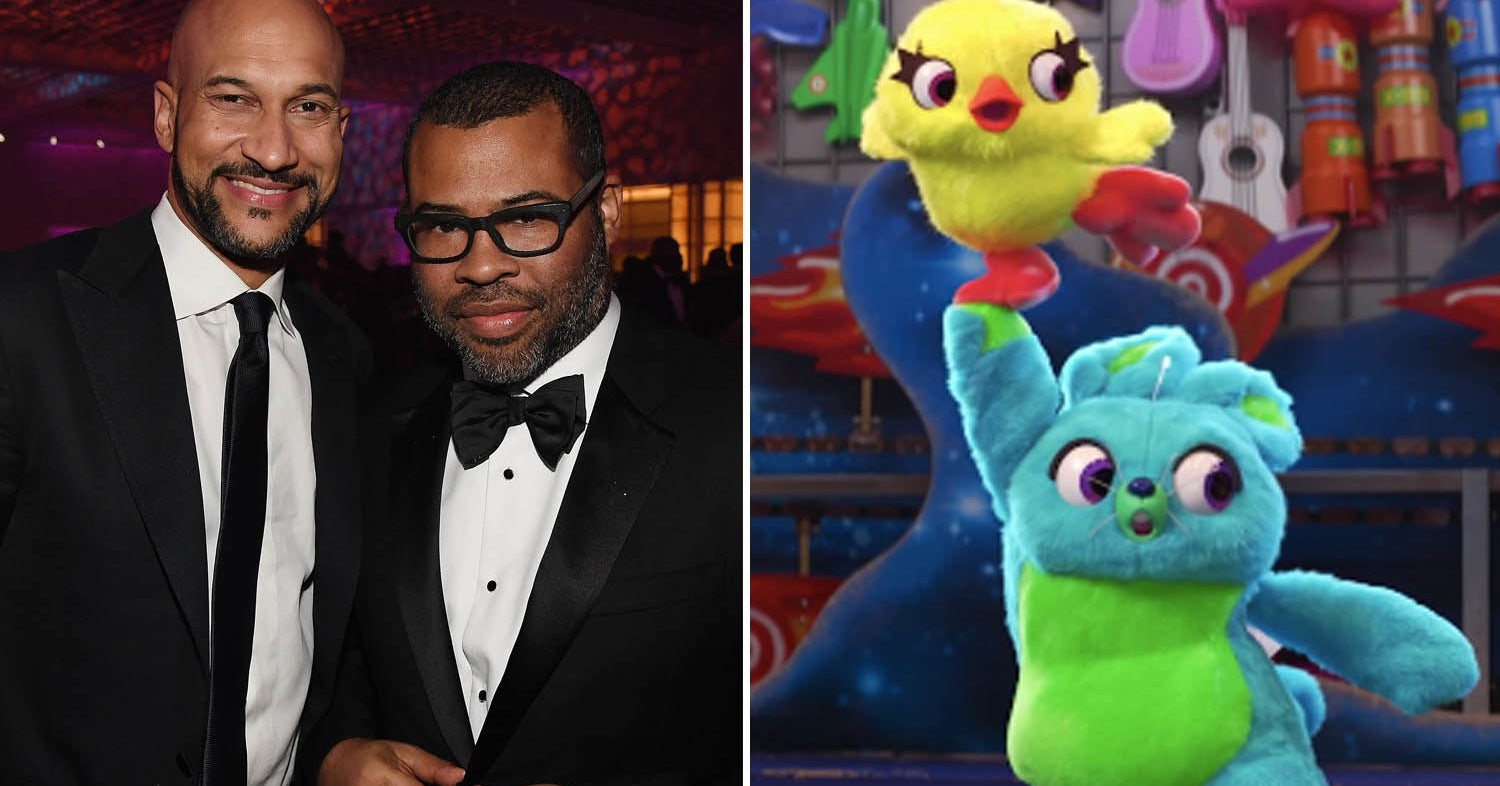 """Y'all, Key And Peele Are Reuniting As Sassy Stuffed Animals In """"Toy Story 4"""""""