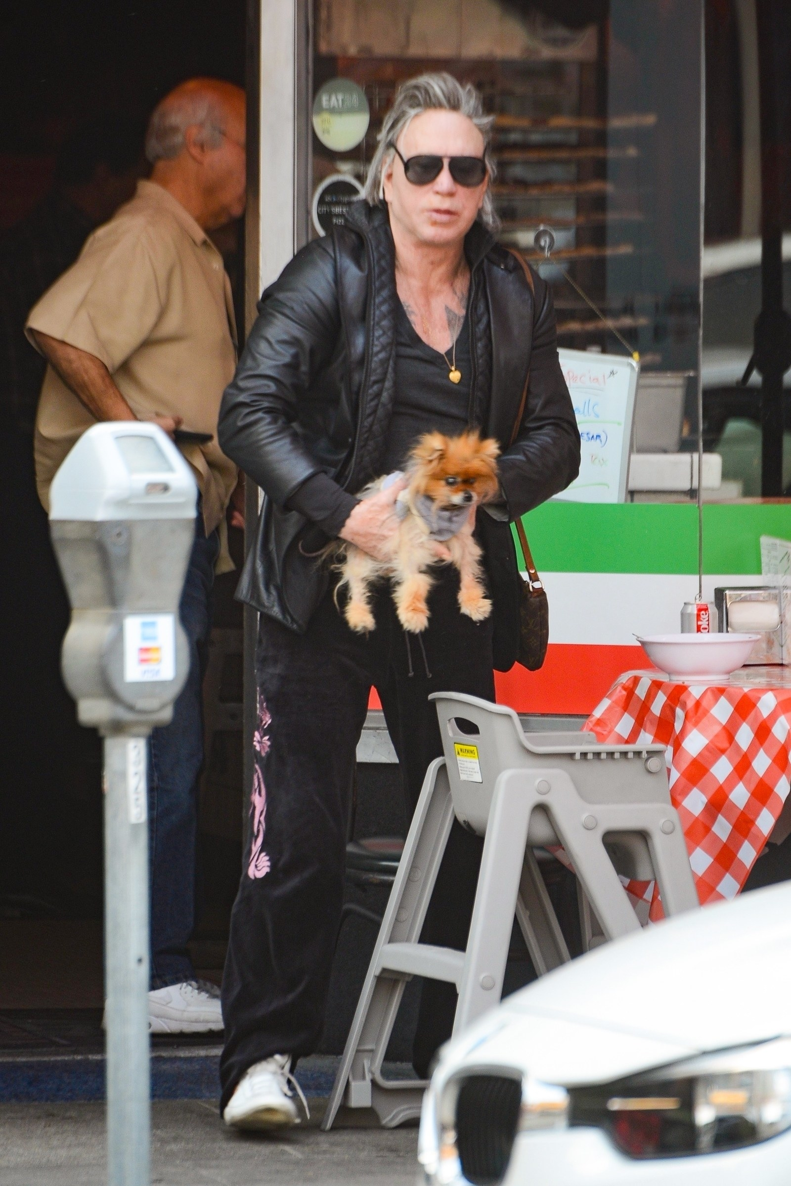 Dating Mickey Rourke