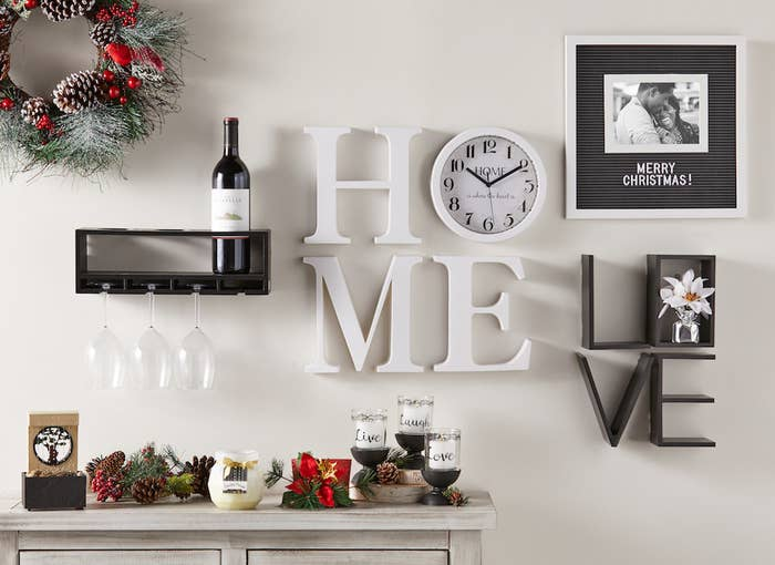 Add more LOVE to your home with this shelf decor. Get it here.