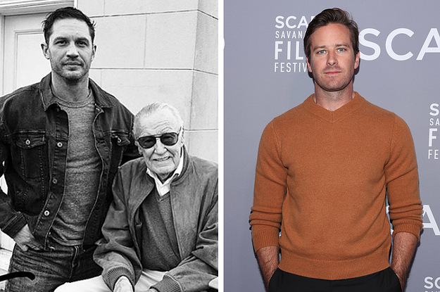 Armie Hammer Criticised Celebrities For Posting Selfies With Stan Lee And People Have A Lot Of Thoughts