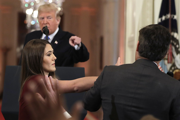 CNN Sued President Trump For Banning Jim Acosta From The White House
