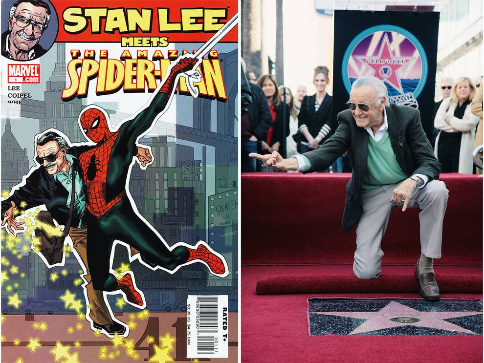 Rare Pictures From The Life Of Comic Book Legend Stan Lee