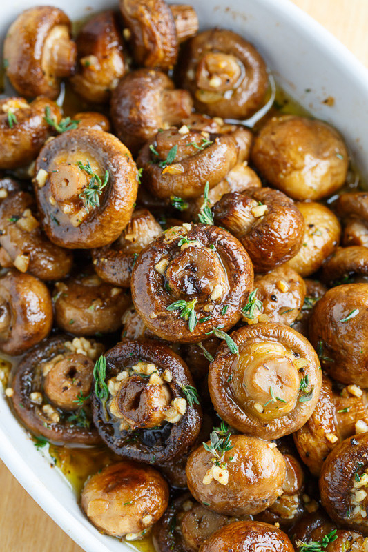 Mushrooms + thyme + garlic + brown butter = the most delicious Thanksgiving side dish you can imagine. Get the recipe.