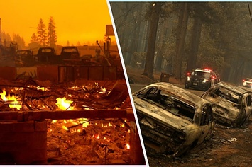 The Ferocious Camp Fire, Panic, And Clogged Escape Routes Converged To Destroy Paradise, California