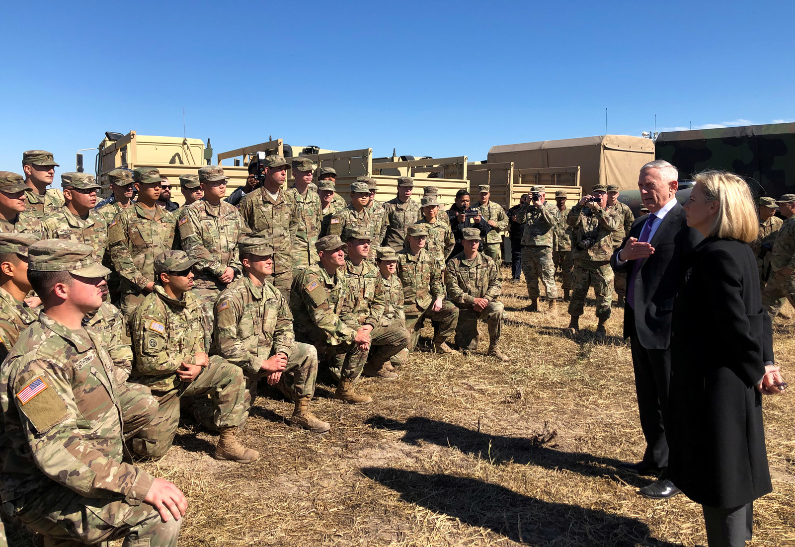 Mattis Visited The Troops Deployed To The Border And They Had Some Questions For Him