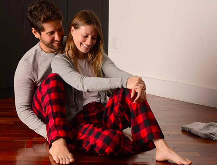 d18c3bf9db Classic flannel bottoms available in both men and women's sizes so you can  snuggle up with the boo, gaze into each others' eyes and talk about how ...