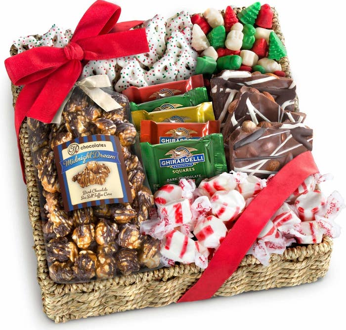 A holiday-themed gift basket to get your loved one into the spirit of the season, which might be especially appreciated if they're a college student who has ...