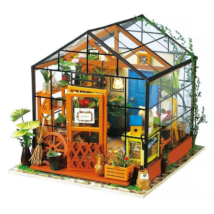 small greenhouse dollhouse
