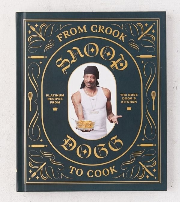 snoop dogg on cover of cookbook