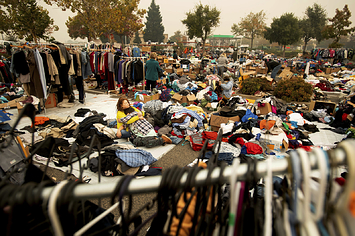 Families Left Homeless By California's Deadliest Wildfire Are Now Living In A Walmart Parking Lot