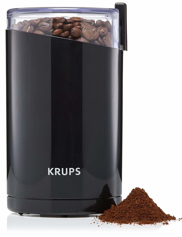 the coffee grinder