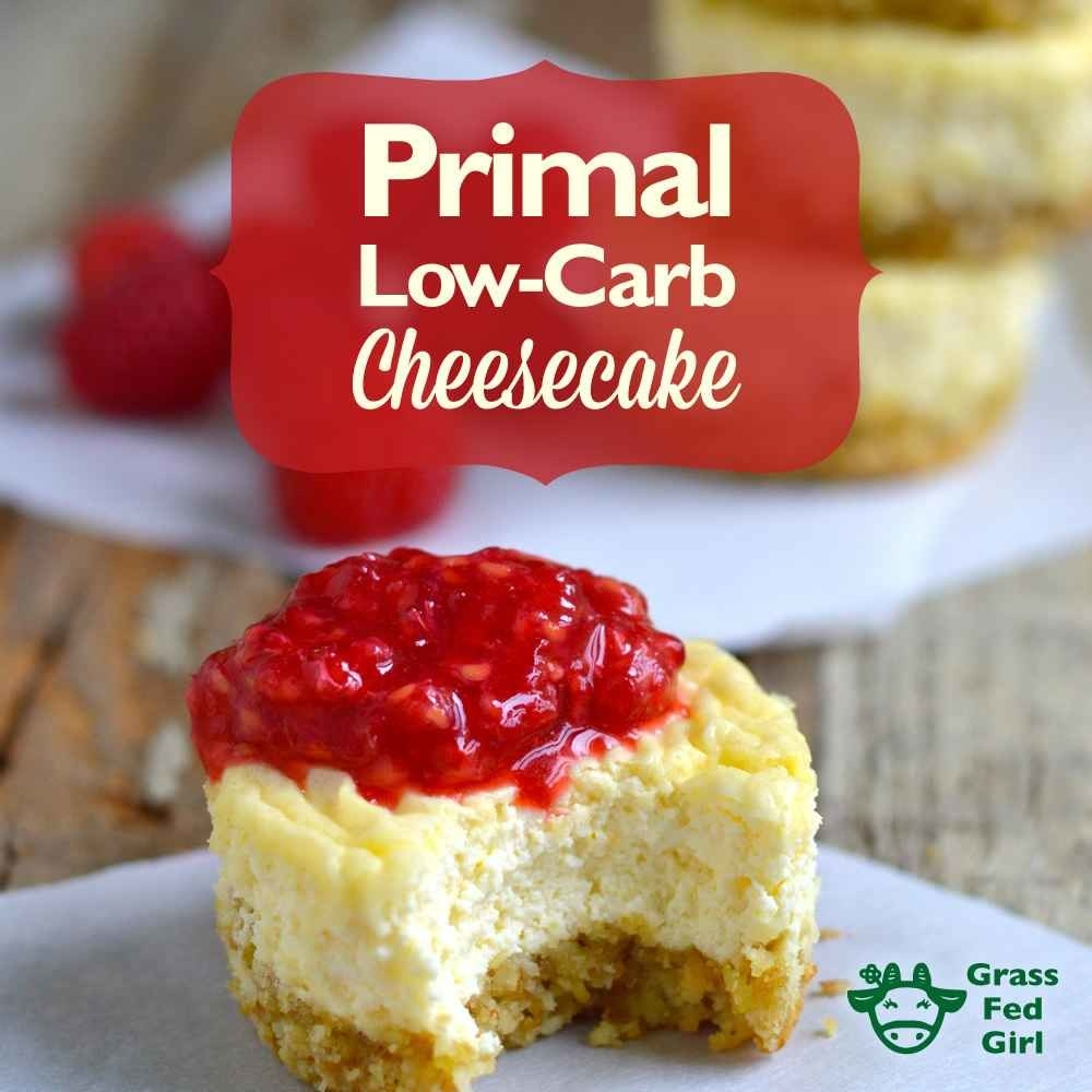 Carbs per serving: 4.4 grams.You already consume copious amounts of cheese in your diet; here's how to have it for dessert too. Get the recipe.