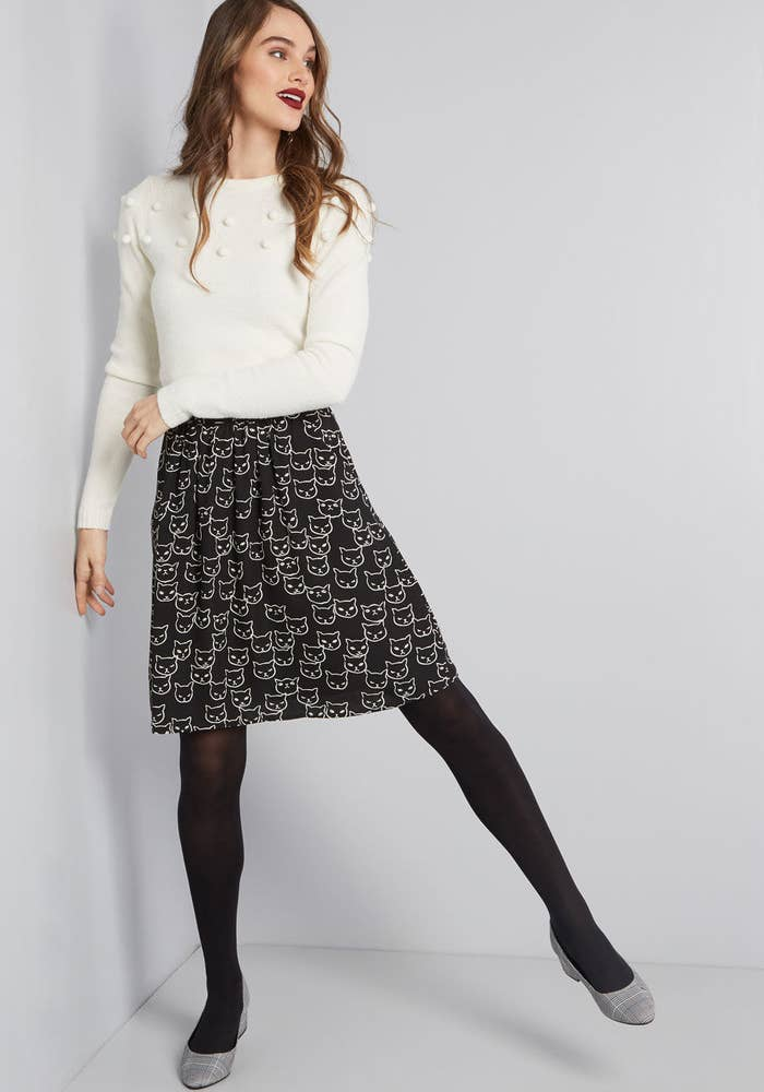 It's got pockets!Get it from ModCloth for $59 (available in sizes XS-4X and in five prints).