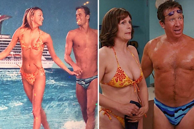 Christmas With The Kranks Tanning Scene.Christmas Movie Details You May Have Missed