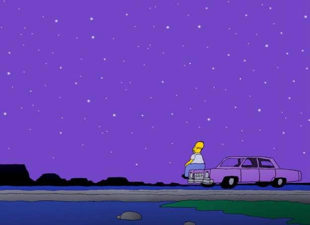 """""""El capítulo donde conocimos a Mona Simpson.Cada vez que termina el capítulo con Homero mirando al cielo después de despedir a su mamá que acababa de regresar, lloro"""".—clairew469e28fce"""