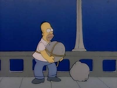 """""""El capítulo de Los Simpson donde Homero piensa suicidarse me conmueve todo el tiempo"""".—michellecallahan555"""
