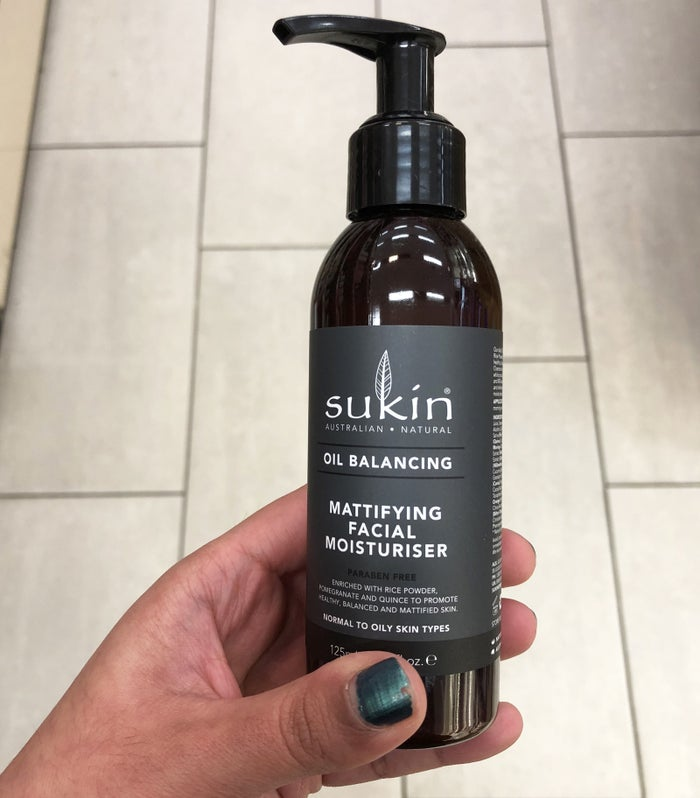 """This is one of the first moisturisers I've used that claims to have a mattifying effect and actually works. I use this after washing my face and find that it reduces my breakouts and makes my skin feel nice. Plus it doesn't leave a sticky residue on your face after you apply it. Given that I have combination skin, this is now my regular go-to!"" — Ryan PaturzoGet it at Priceline."