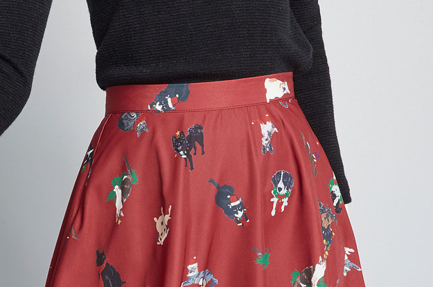 99d74ae28e 25 Fabulous Skirts That Are Perfect For Wearing With Tights