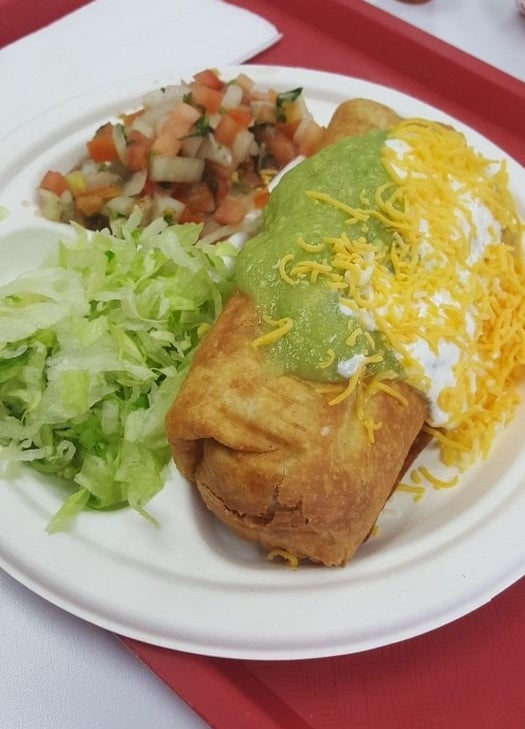 Most popular order: Chimichanga