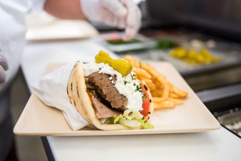 Most popular order: Greek gyro